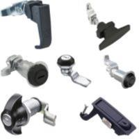 Cam-and compession latches